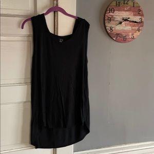 Women's NY&C sleeveless hooded tank top. Size L.